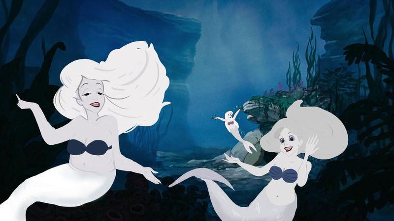 Regional Mermaid Illustrations