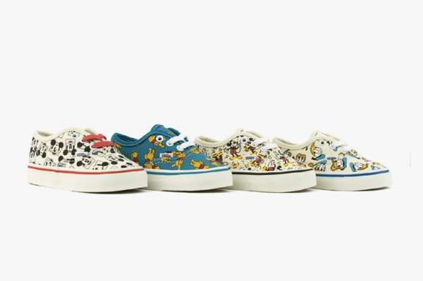 Iconic Cartoon Skater Sneakers