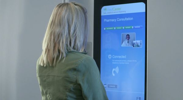 Telepresence Pharmacy Kiosks