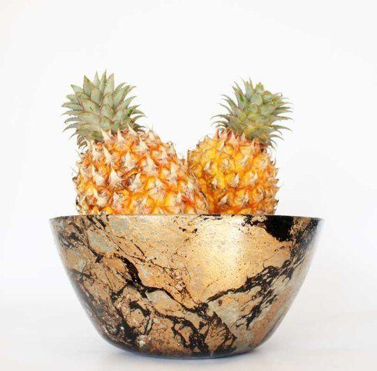 Colorful Concrete Fruit Bowls
