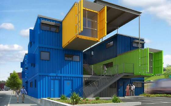 Shipping Container Workplaces (UPDATE)