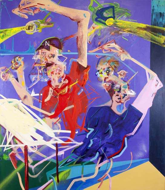 Colorfully Distorted Paintings