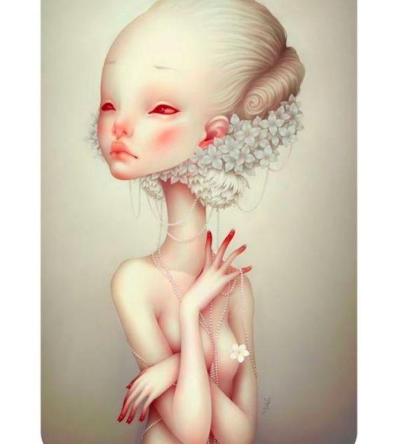 Doll-Like Fetal Paintings