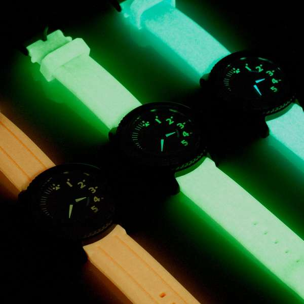 Colorfully Illuminated Timepieces