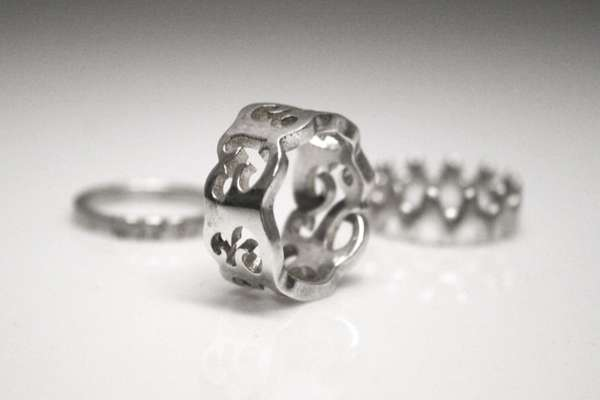 DIY 3D printing in silver with Shapeways