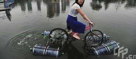 diy amphibious bike