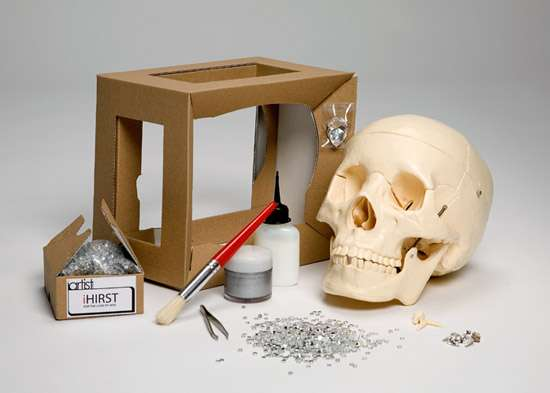 DIY Skull Art