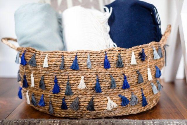 Tassel Basket DIYs