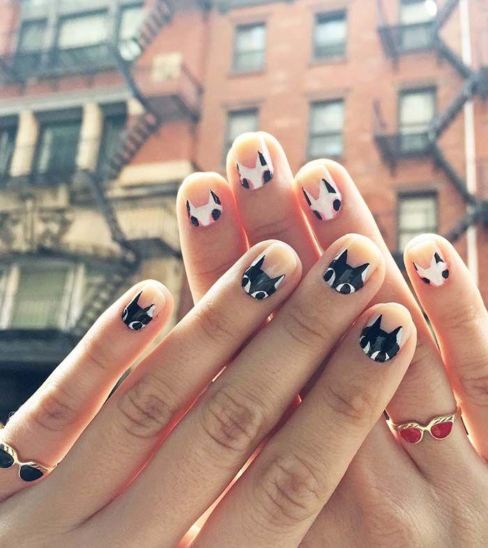 Adorable DIY Cat Nails