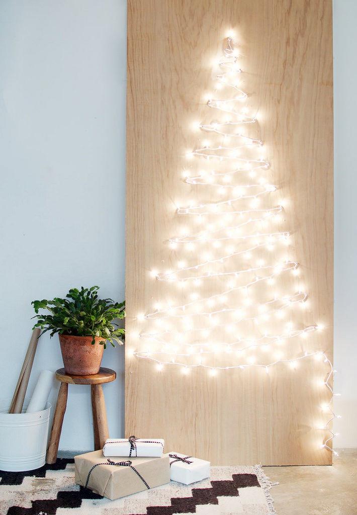 String Light Christmas Trees