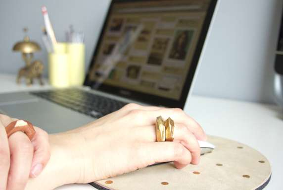 Dashing DIY Clay Rings