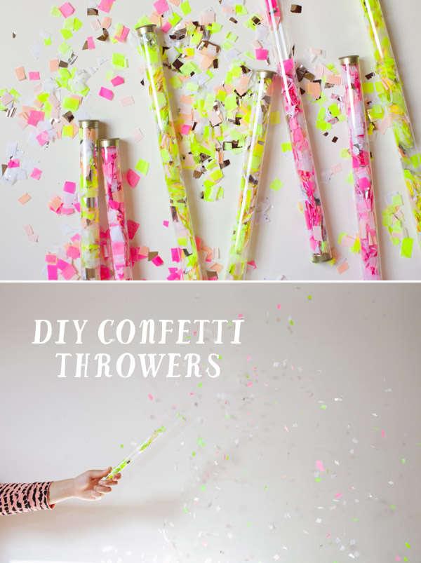 DIY Neon Confetti
