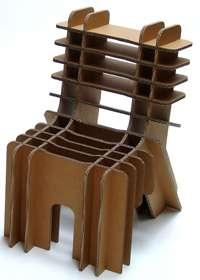DIY Cardboard Kids Chairs