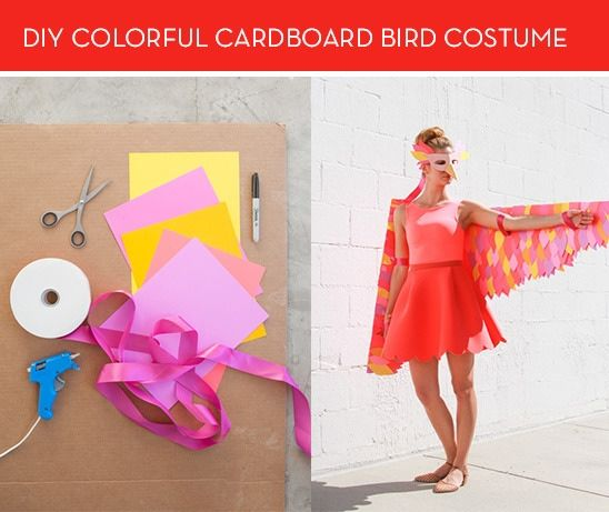 Papercraft Bird Costumes