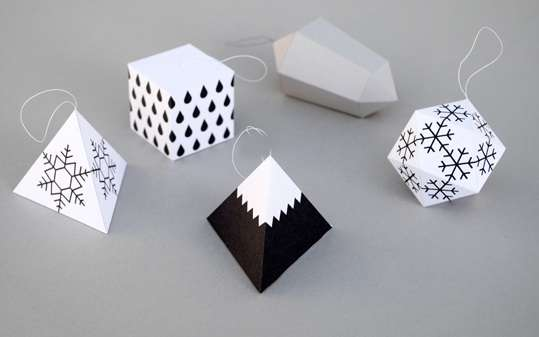 DIY Origami Ornaments