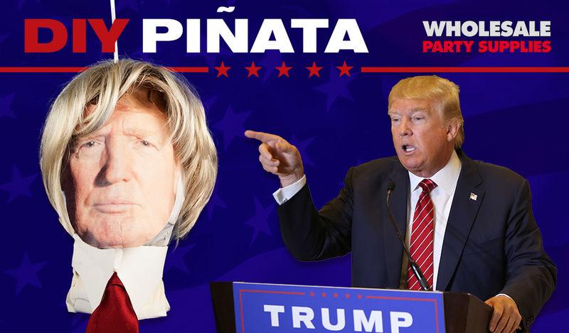 DIY Politician Pinatas