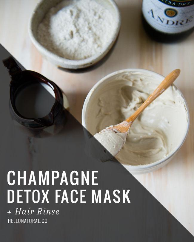 Champagne Face Masks