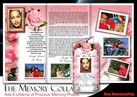 Diy Funeral Printing Produce Memorial Materials With The
