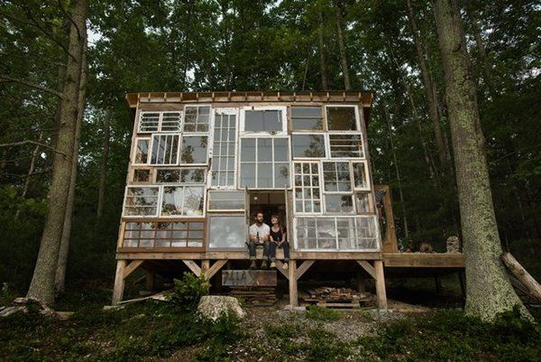 DIY Glass Getaway Homes