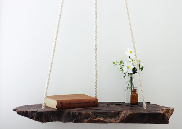 Hanging Timber Tables