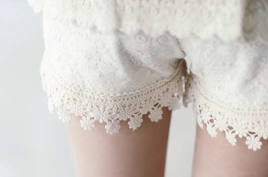 Customized Doily Shorts