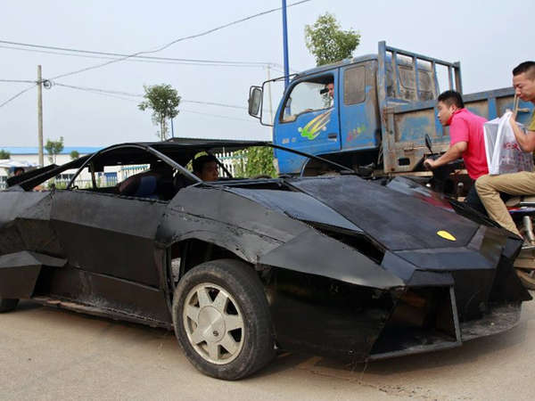 Homemade Sheet Metal Supercars