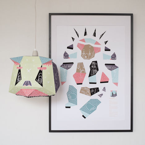 DIY lampshades from Mostlikely