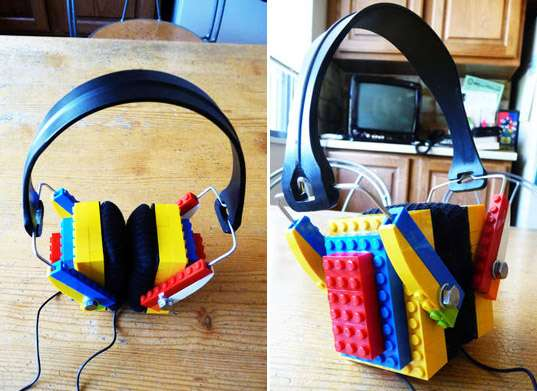 DIY LEGO Headphones