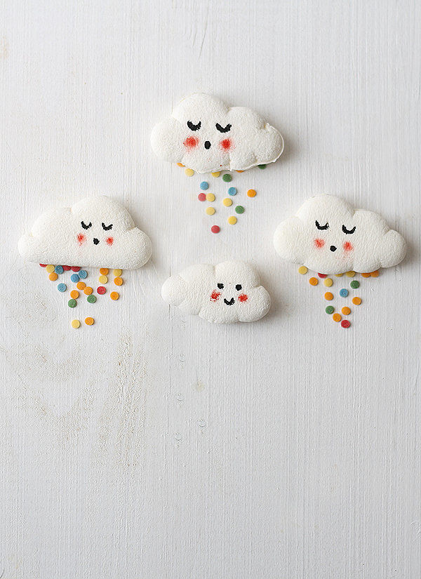 DIY Marshmallow Clouds