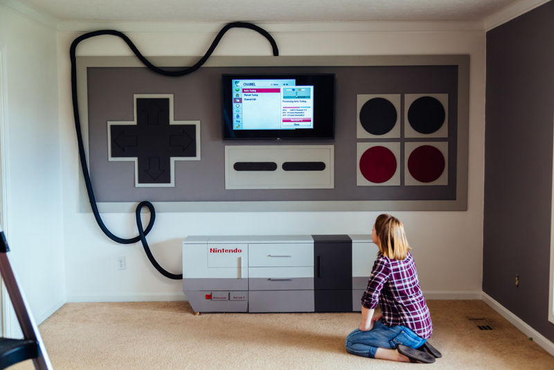 Retro Gamer Entertainment Systems