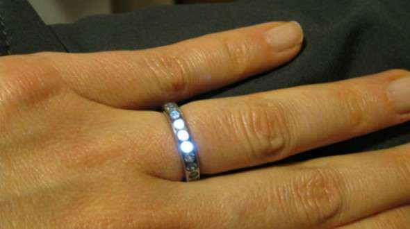 Light-Up Engagement Rings