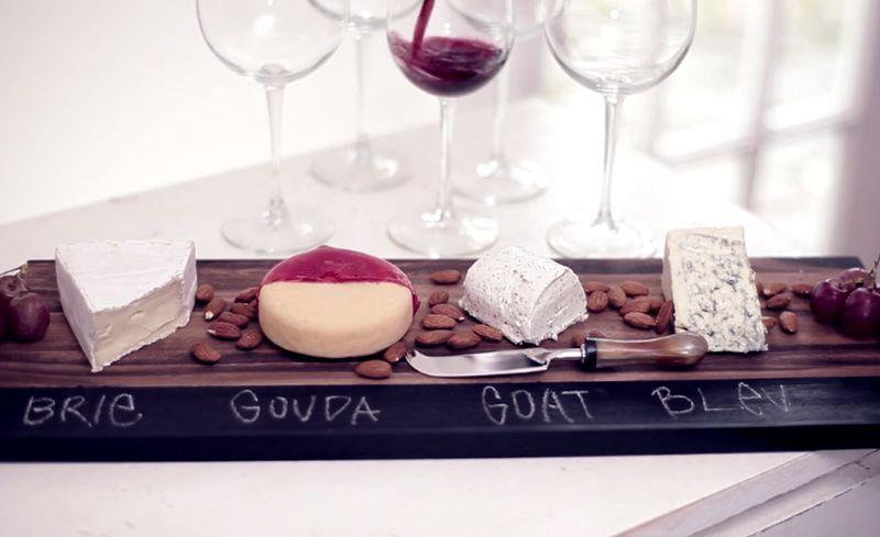 Chalkboard Cheese Platters