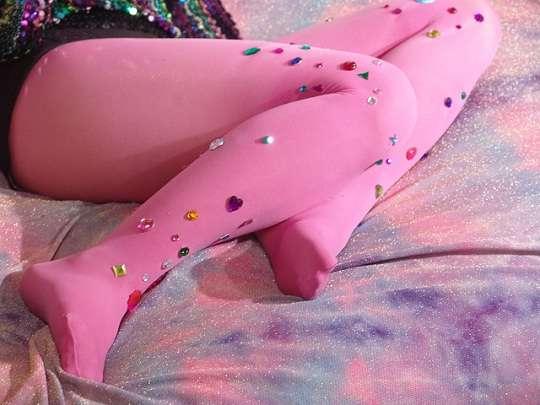 80s Diva Stockings