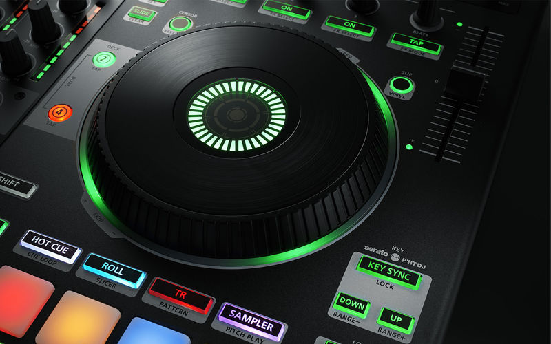 Drum-Sequencing DJ Controllers