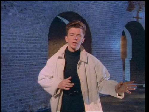 Rick Rolling Rockstars