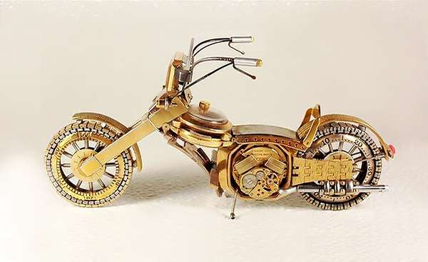 Wristwatch Motorcycle Models