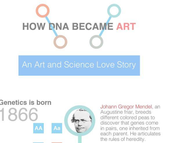 DNA Art Infographics
