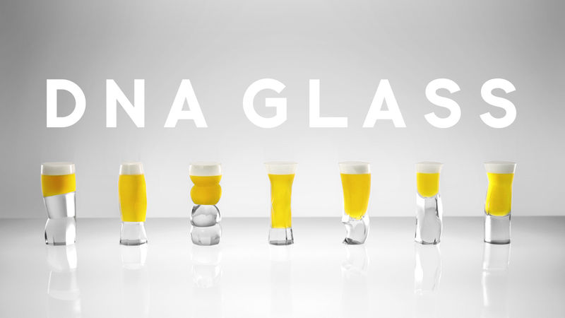 Genetically Specified Beer Glasses