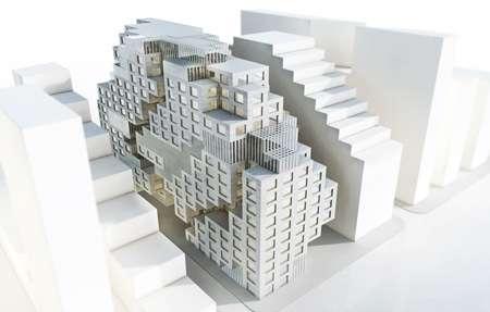 Tetris-Inspired Banks