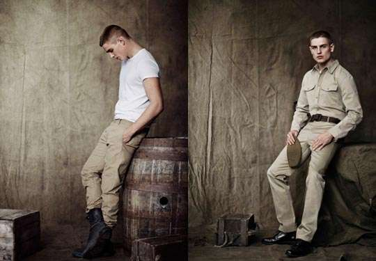 WWII-Inspired Menswear