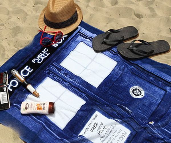 Beachy Sci-Fi Towels
