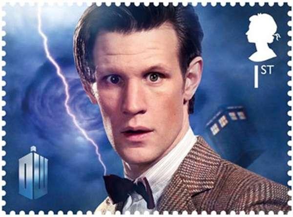 British Sci-Fi Stamps