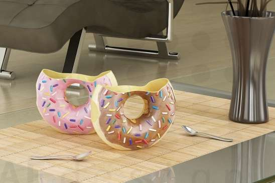 Donut Coffee Cups