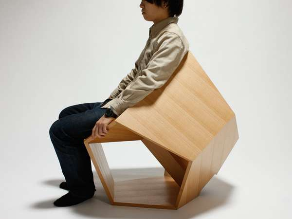 Intricately Angular Seating