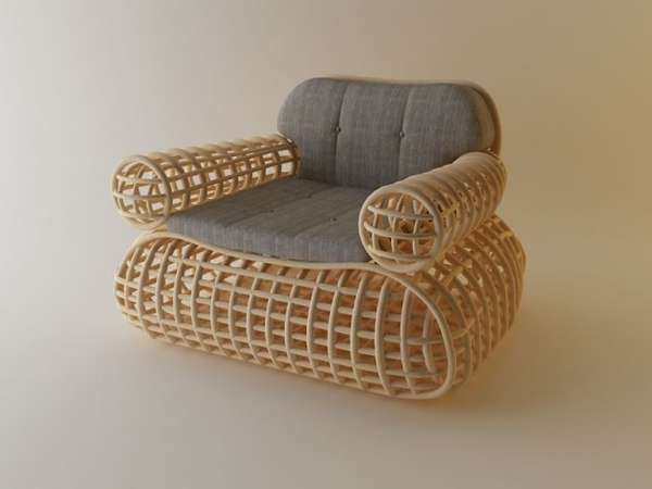 Grid-Like Armchairs