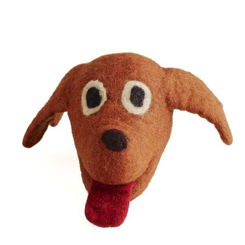 Dog Head Chew Toy