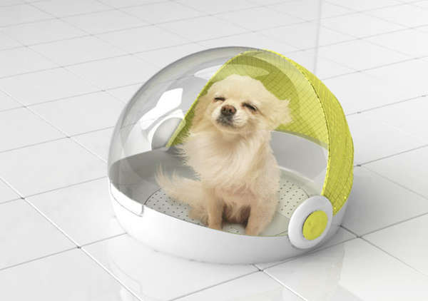 Ventilated Pooch Pods