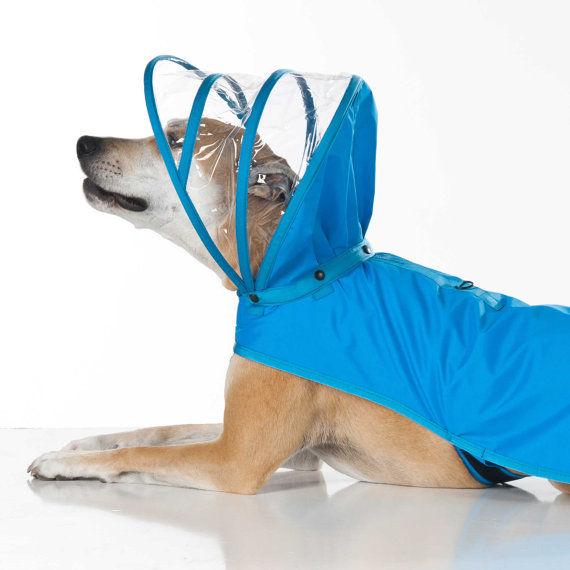 Hooded Canine Rain Gear