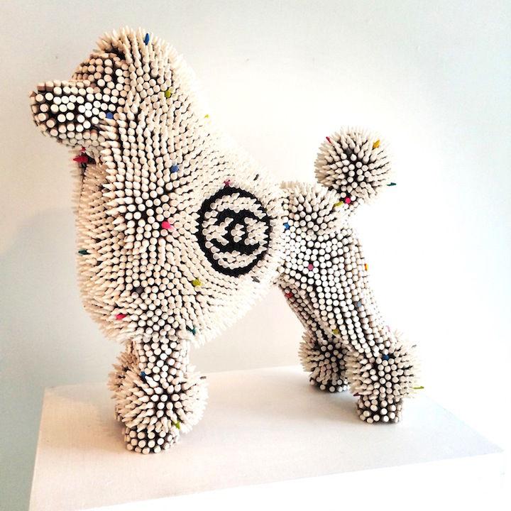 Designer Dog Sculptures