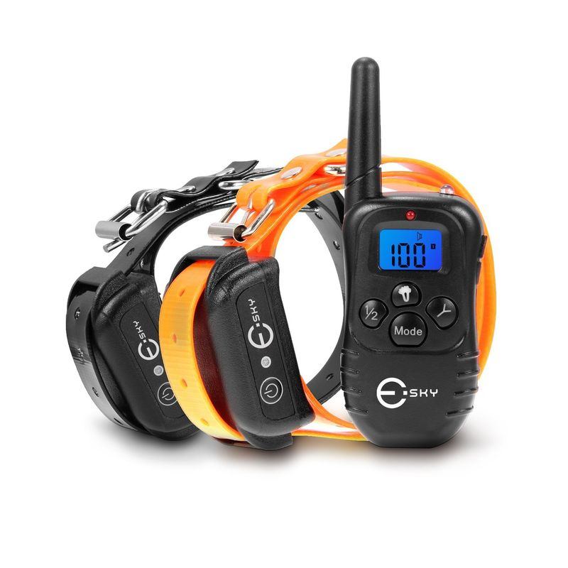Vibrating Dog Collars